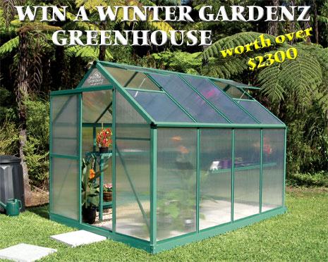 NZGardener: Win A Winter Gardenz New Zealand Made Green