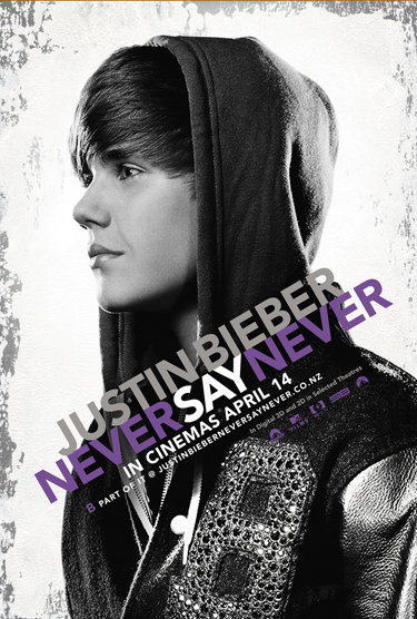 justin bieber never say never 3d poster. Justin Bieber: Never Say Never
